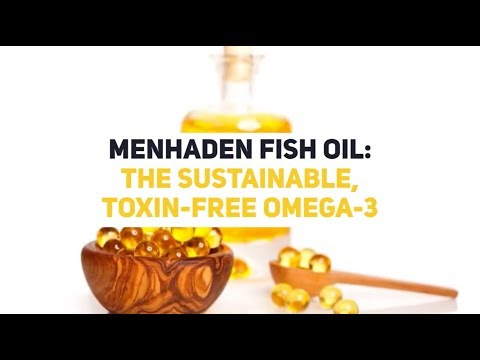 Menhaden Fish Oil: The Sustainable, Toxin-free Omega-3