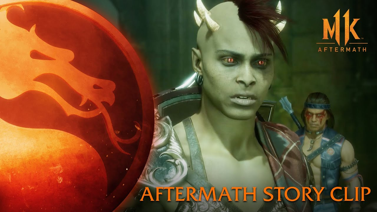 Mortal Kombat 11: Aftermath - Story Clip thumbnail