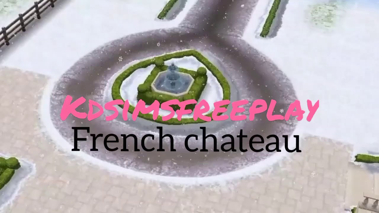 8195 template - The Sims Freeplay French Ch Teau Home Template