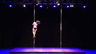 2018 US Pole Dance Championship Novice Level 2 Artistic Division - Dawn Hansen