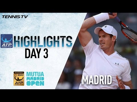 Madrid Tuesday Highlights: Murray, Thiem, Zverev Advance