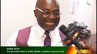 Kennedy Agyapong Speaks On SONA - Badwam Mpensenpensenmu on Adom TV (21-2-19)