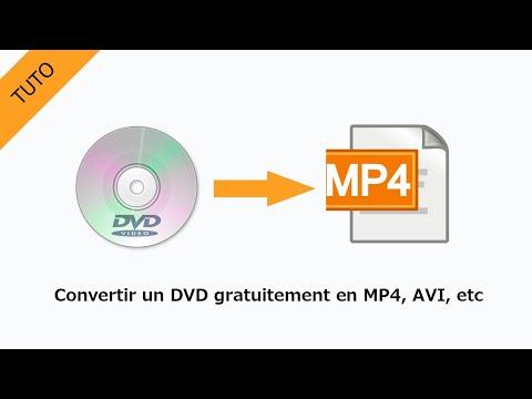 【TUTO】Convertir un DVD Gratuitement  en MP4, AVI, etc