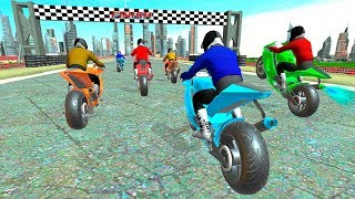 Moto Bike Highway Racer 3D Racing Game - Gameplay Android game