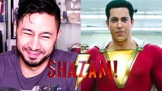 SHAZAM | Sneak Peek | Teaser Trailer Reaction!