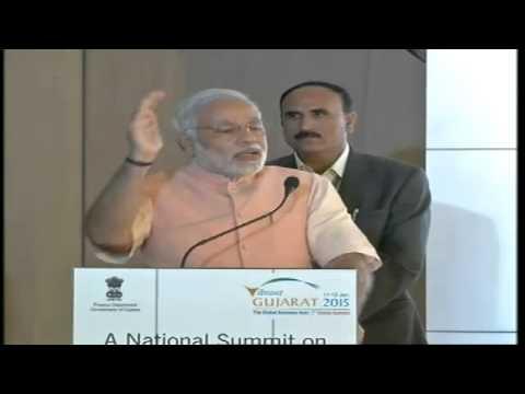 "Shri Modi addressing National Summit on ""Financial Services -- A key driver for economic growth"""