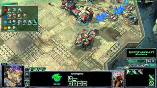 SC2: IS0092 - [2v2: TZ vs. TP - cubert, Aristeo vs. Nuku, SaNY] - Game 1
