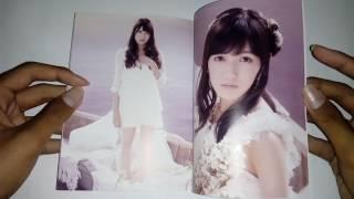 "Unboxing AKB48 3rd Studio Album "" 次の足跡 ( Tsugi No Ashiato ) "" Type A Limited & Reguler Edition"
