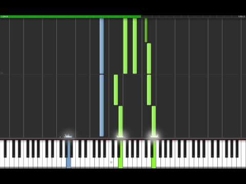 Synthesia : Craig Armstrong-Glasgow love theme (From Love Actually)