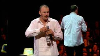 Aussie comedian Brendon Burns vs. heckler