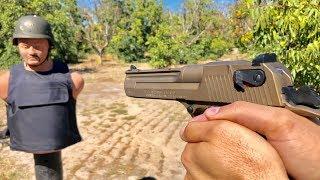 Desert Eagle 44 Magnum vs Body armor