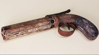 Rusty Vintage Pepperbox - Restoration