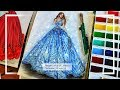 Beginners' Fashion Design Couture Gown Painting