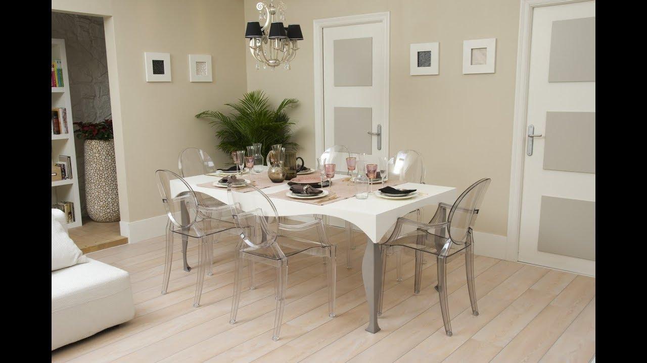 Cómo hacer una mesa de comedor grande y elegante - Decogarden