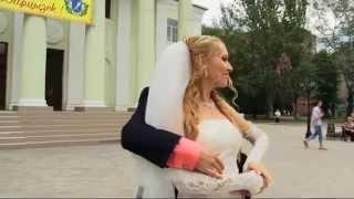 Свадебный флешмоб в Харцызске