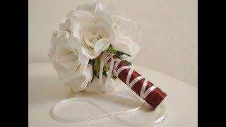 МК Свадебный букет своими руками