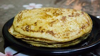 Kids Tiffin Eggless Wheat Flour Pancake recipe