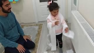 Ayşe Ebrar Mumya Oldu Saklandı Babasını Korkuttu. Eğlenceli Çocuk Videosu