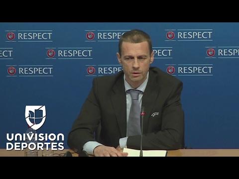 """El presidente de la UEFA pidió 16 plazas """"como mínimo"""" para el Mundial con 48 equipos"""