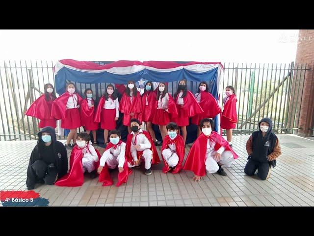 4°B de Pumahue Chicauma realiza su baile del mes de la patria, representando el Norte con la Tirana