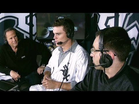 CLE@CWS: Sox first round pick Burdi on being drafted
