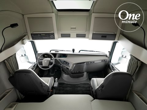 Volvo Trucks - One Minute about cab space