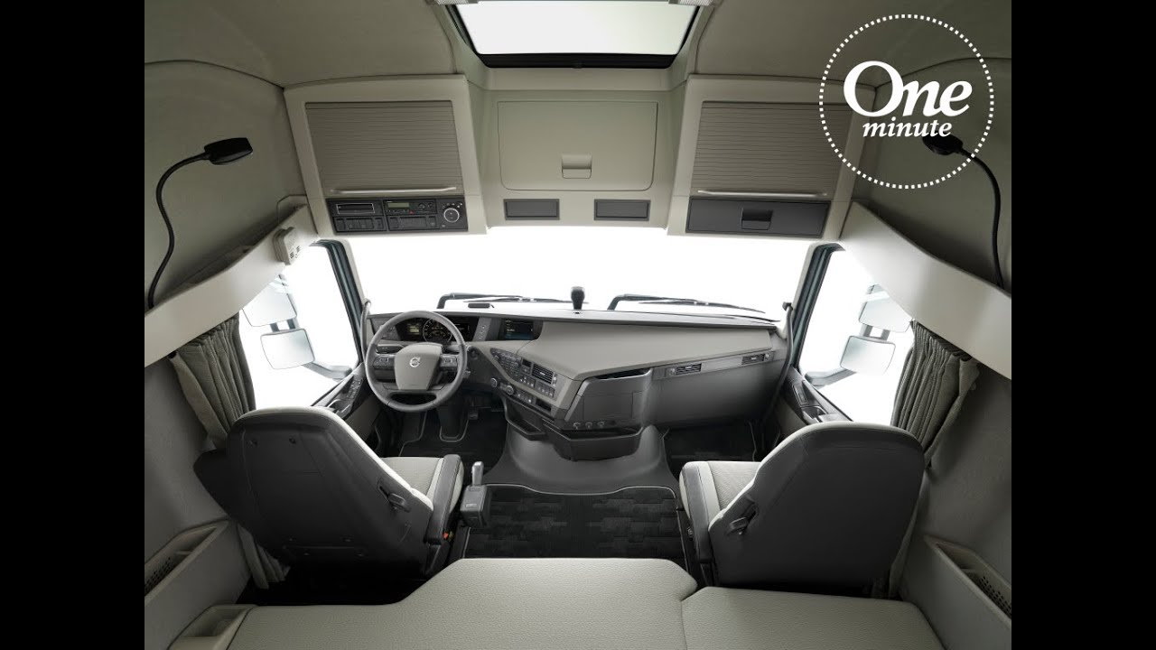 Volvo Trucks - One Minute about cab space - YouTube