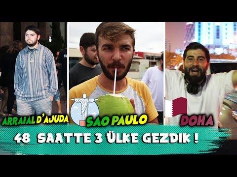 48 SAATTE 3 ÜLKE GEZDİK!!