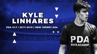 KYLE LINHARES | PDA U17 | 2017-2018 | NEW JERSEY USA