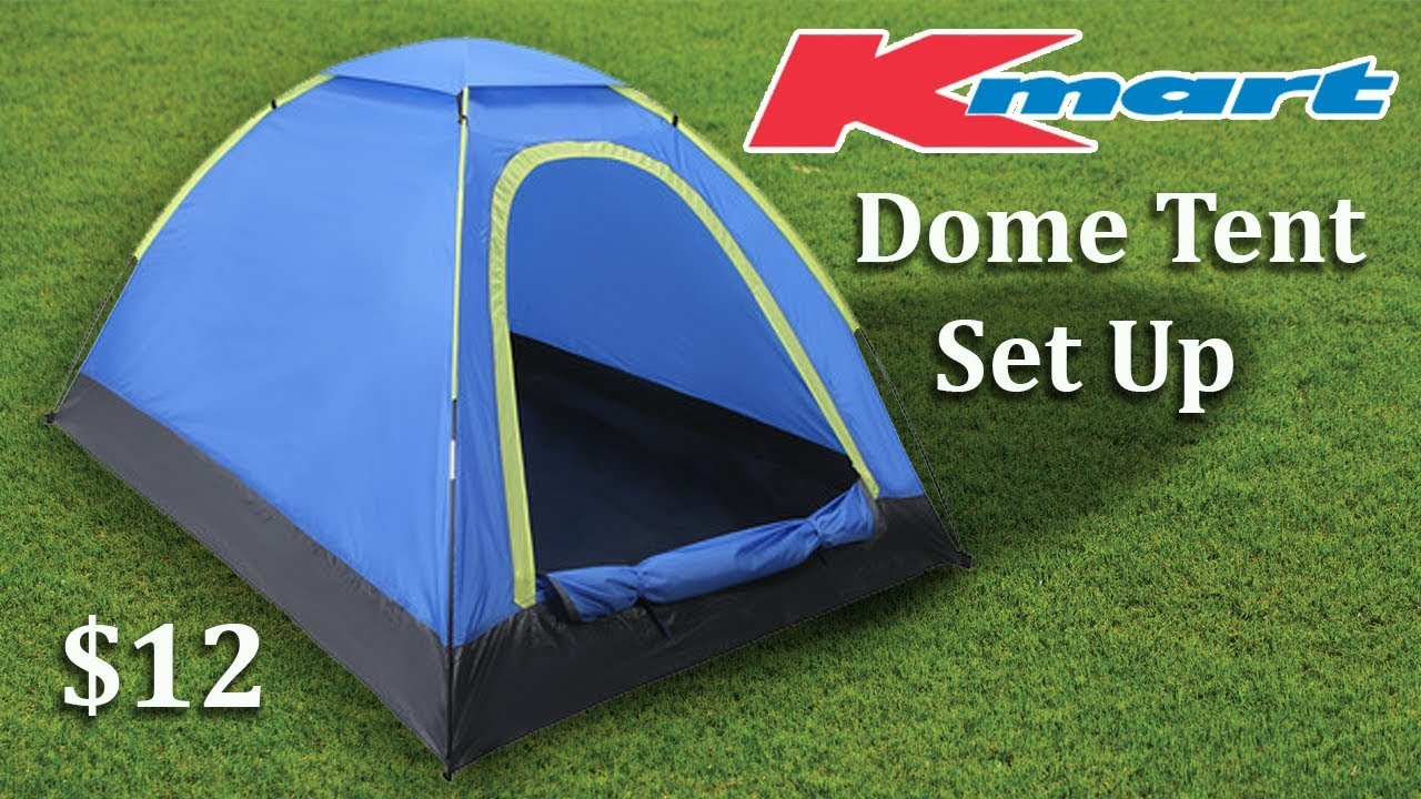 $12 Anko 2 Person Dome Tent from Kmart, quick look and set ...
