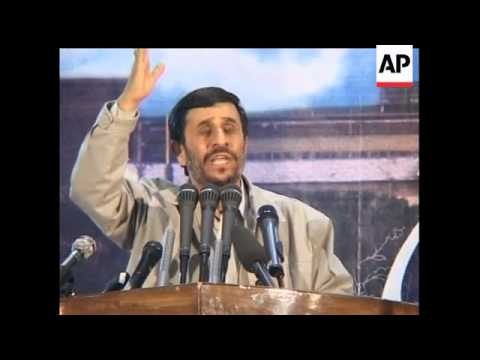 On Monday, Iranian President Mahmoud Ahmadinejad Repeated His Call For The Destruction Of Israel.  H