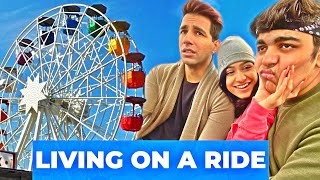 LIVING IN A RIDE FOR 1000 TIMES | Rimorav Vlogs