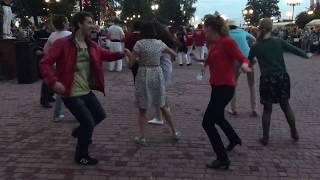 Афро танцы от Стиляги-хоп/сальсы  под барабаны на славянке в Витебске.