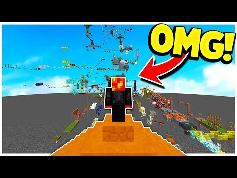 THE LONGEST PARKOUR MAP IN MINECRAFT! (400+ STAGES!)