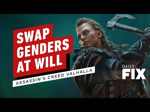 Assassin's Creed Valhalla Will Let You Swap Genders On the Fly - IGN Daily Fix