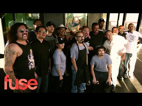 Danny Trejo Welcomes Fluffy To Trejo's Tacos