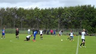 Varde-KFC U14. Resultat: 2-3 - Fodbold U14 (98) række 609 1. halvleg Del 2 - lørdag 23. juni 2012