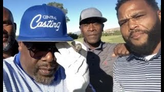 Cedric The Entertainer Banging Crip! G Checks Anthony Anderson On Snoop Dogg Birthday