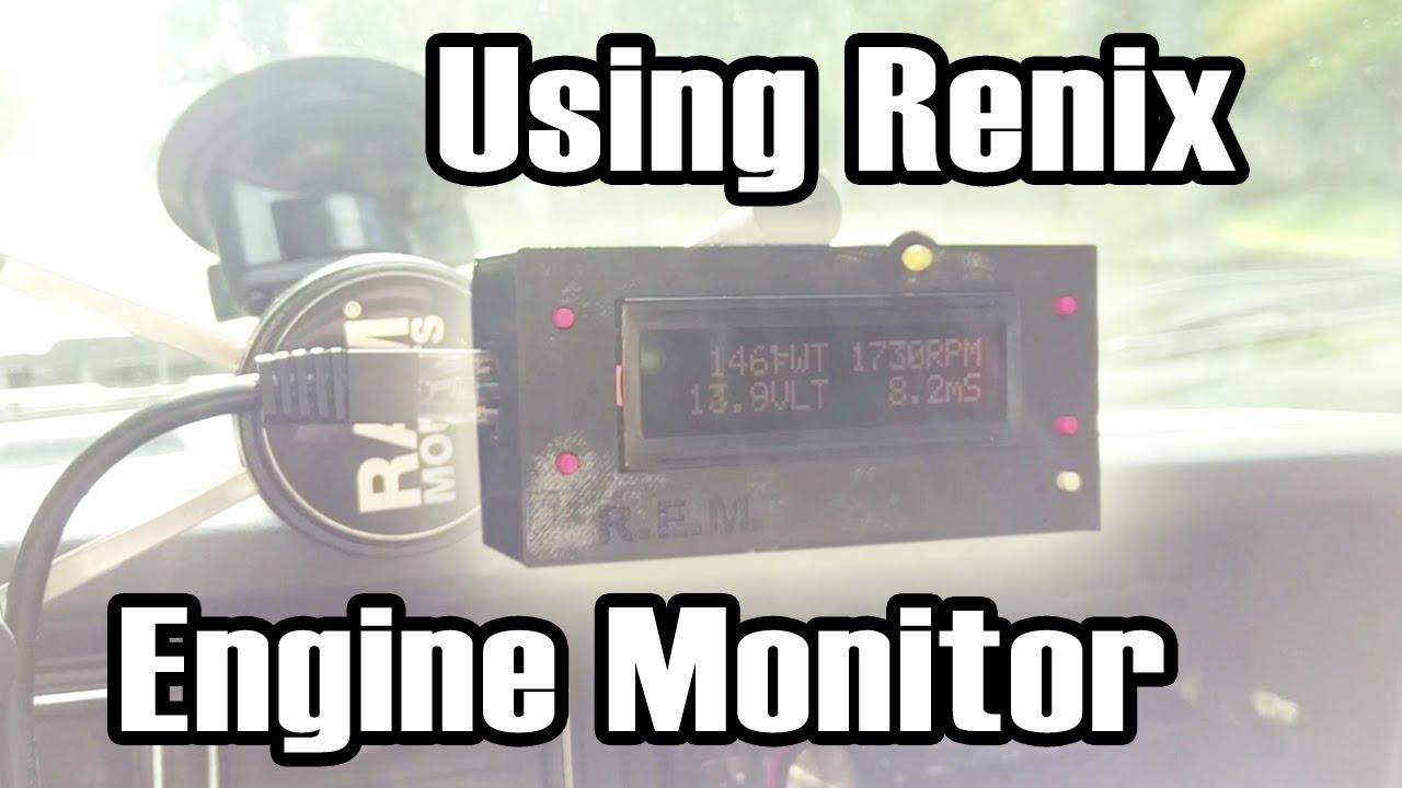 Using Renix Engine Monitor ALPHA / How it's Made