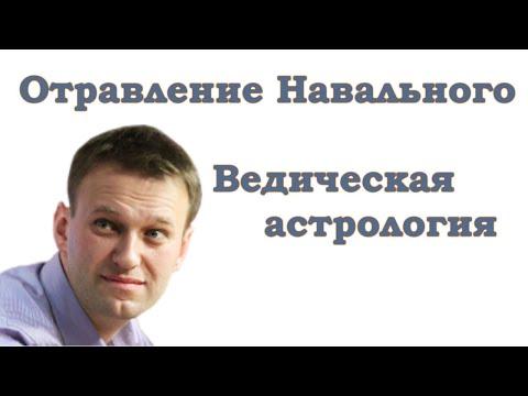 Отравление Навального. Ведическая астрология.