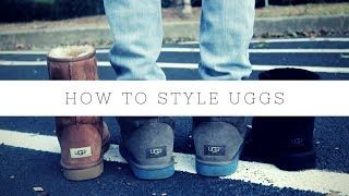 HOW TO - style UGGS BOOTS for men