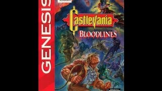 Castlevania: Bloodlines - John Morris Video Walkthrough