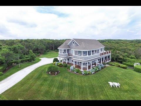 Cape Cod Shingled-Styled Home in East Sandwich, Massachusetts