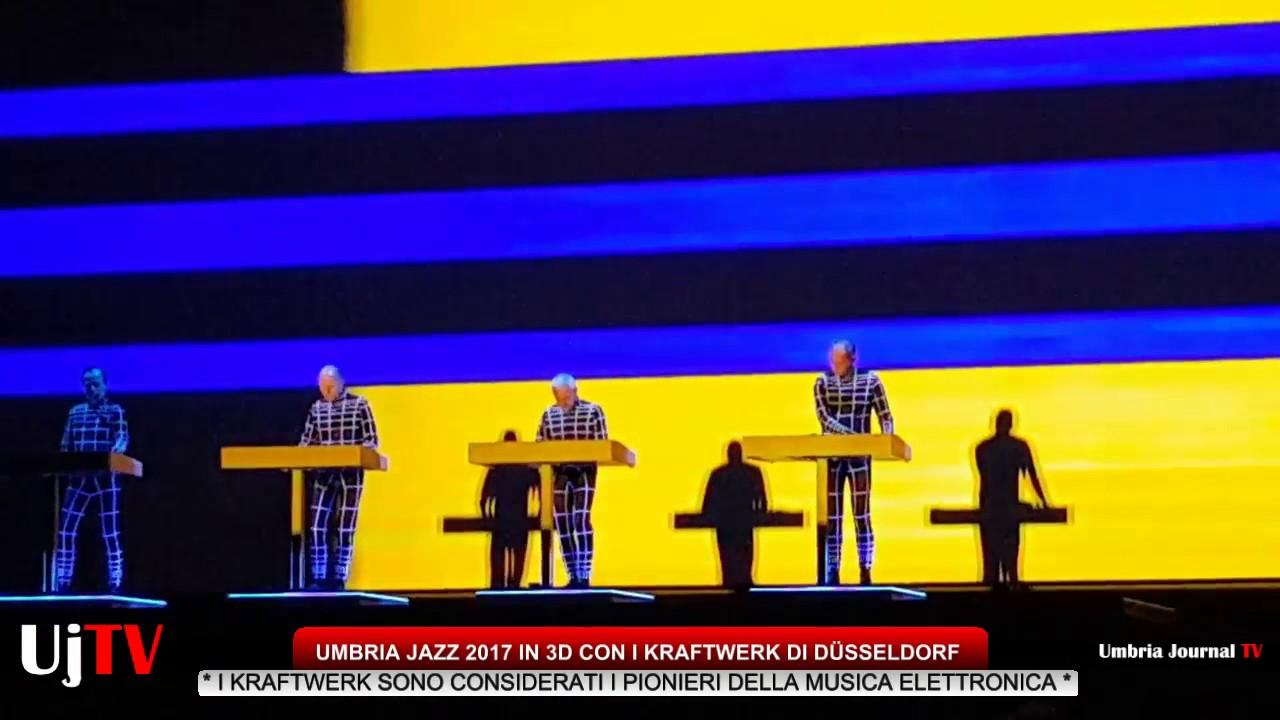 Kraftwerk 3D Concert a Umbria Jazz 2017 - YouTubeKraftwerk 3d