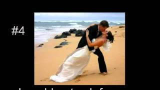 Top 10 Wedding First Dance Songs   YouTubeSnips