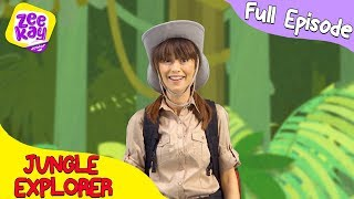 Let's Play: Jungle Explorer   FULL EPISODE   ZeeKay Junior