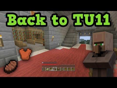 Minecraft Xbox 360 - BACK TO TU11 OLD TUTORIAL WORLD - YouTube