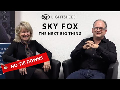 AVIATION NO TIE DOWNS: Sky Fox, the Next Big Thing