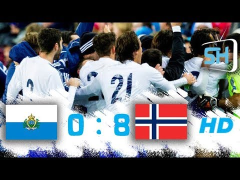 San Marino vs Norway 0-8 All Goals and Highlights World Cup Qualifiers October 5 ,2017
