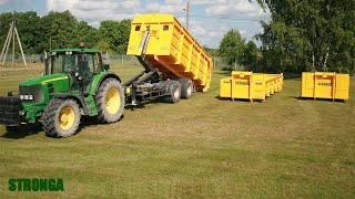 Stronga HookLoada HL180DT trailer - Unlimited transport applications